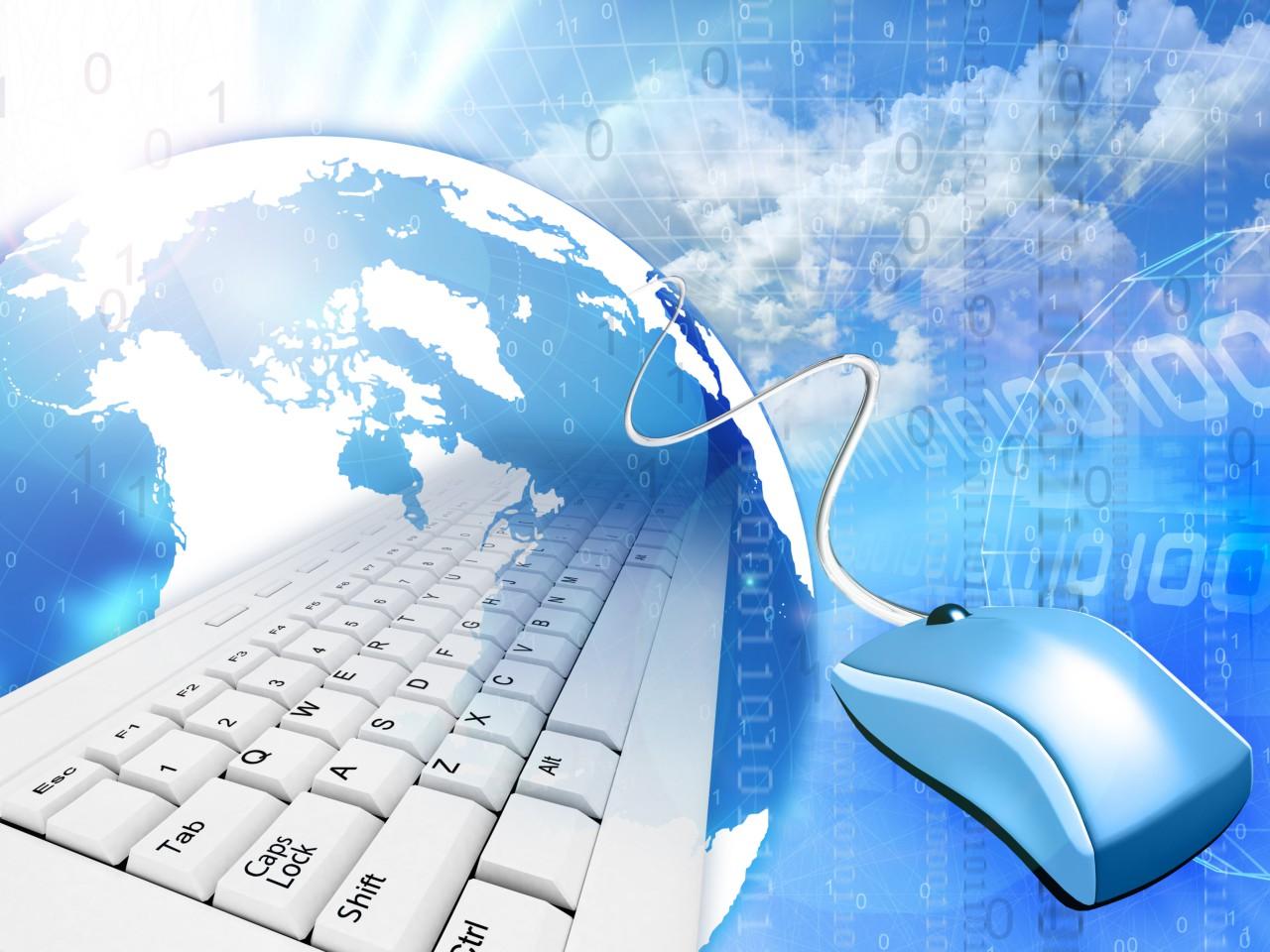 Computer education wallpaper